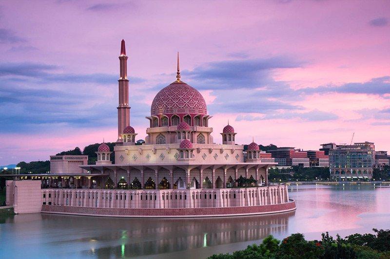 آشنایی با مساجد مالزی