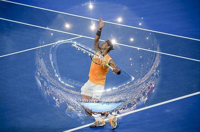 تنیس اپن استرالیا به روایت تصویر