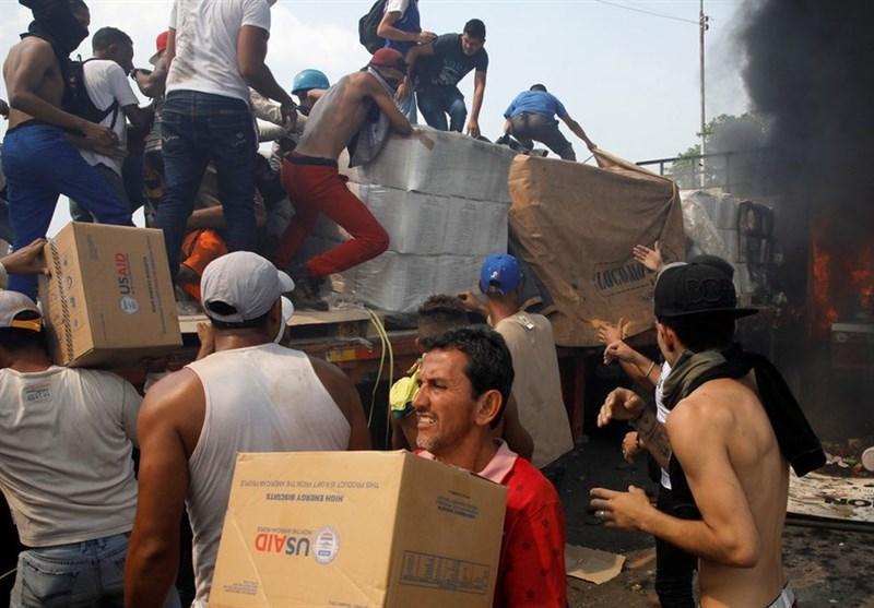 آمریکا به بهانه یاری های انسانی تحریم های جدیدی علیه ونزوئلا وضع کرد