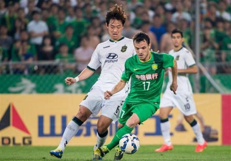 لیگ قهرمانان آسیا، صعود جئونبوک کره جنوبی با شکست تیم چینی
