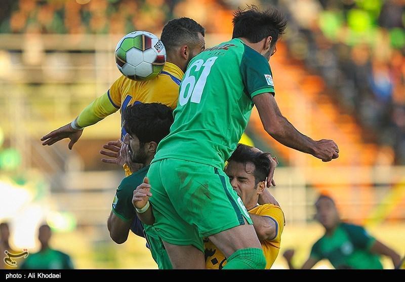لیگ برتر فوتبال، تساوی یک نیمه ای نفت مسجدسلیمان و ماشین سازی