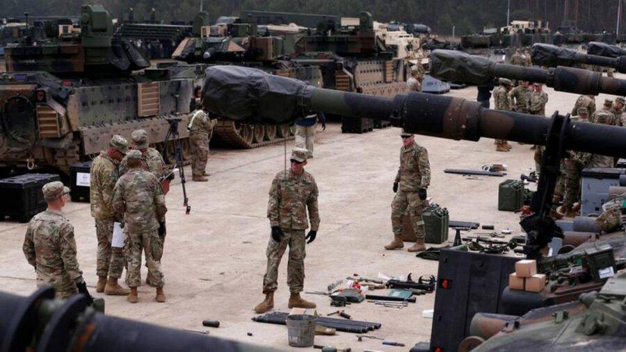آمریکا 1000 نظامی دیگر به لهستان گسیل می نماید