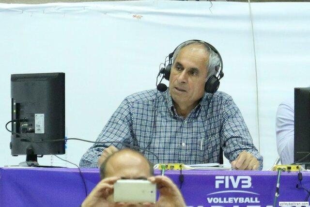 جواد محتشمیان و چالش با واژه های جدید در گزارش والیبال