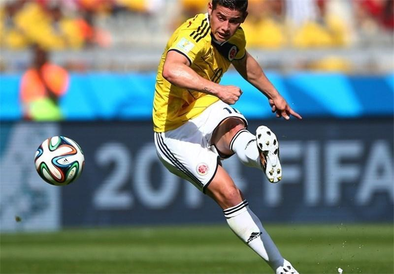رودریگوئز بهترین بازیکن دیدار کلمبیا - یونان شد