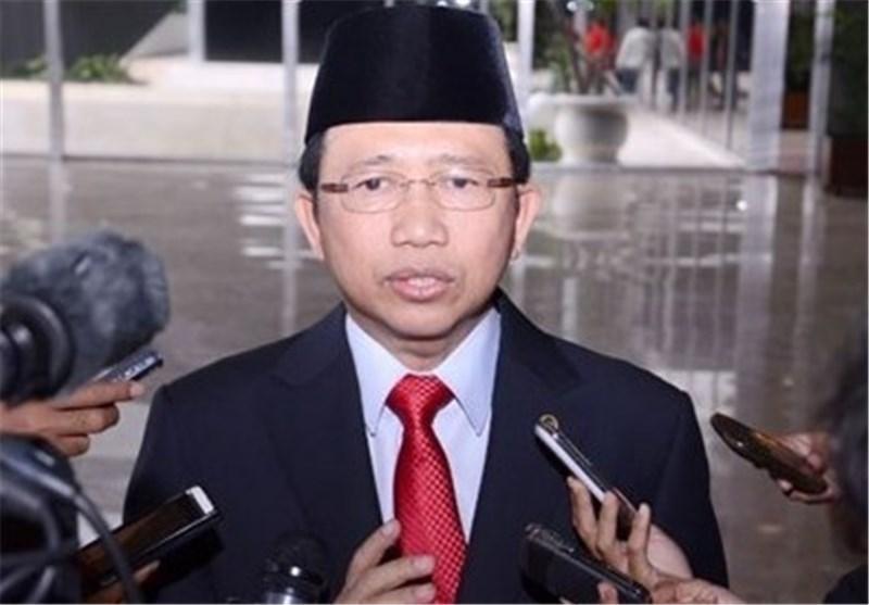 سخنرانی رئیس مجلس اندونزی در صحن علنی مجلس
