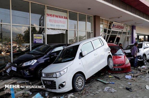 پس لرزه های 6 ریشتری بلای جان مناطق زلزله زده اندونزی