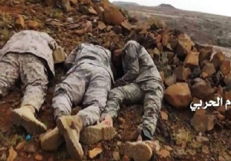 گرفتار شدن مزدوران در کمین محکم یمنی ها، اعتراف عربستان به کشته شدن 8 نظامی در جبهه های مرزی