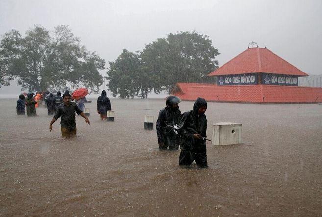 بارندگی در هند 45 کشته برجا گذاشت