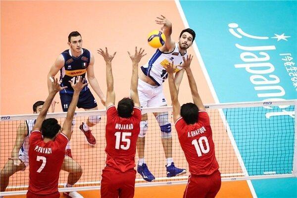 باخت تیم ملی والیبال ایران مقابل ایتالیا، ششمین شکست ثبت شد!