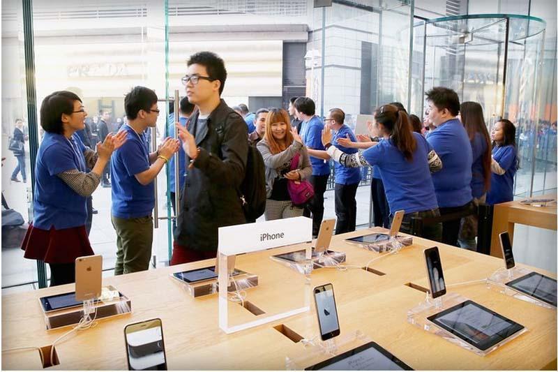 اپل 74.5 میلیون آیفون فروخت؛ تیم کوک رکورد زد؛ چینی ها بزرگ ترین خریدار!