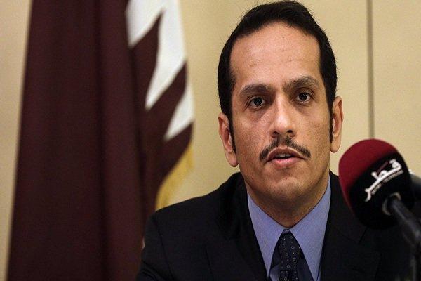 حمایت وزیر خارجه قطر از عملیات موسوم به چشمه صلح ترکیه