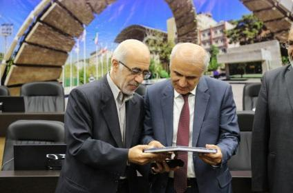 سفیر جمهوری ارمنستان از دانشگاه صنعتی امیرکبیر بازدید کرد