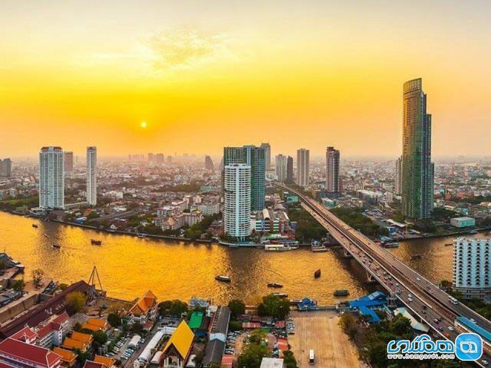 معروف ترین خیابان بانکوک ، خیابانی شلوغ و مملو از زندگی