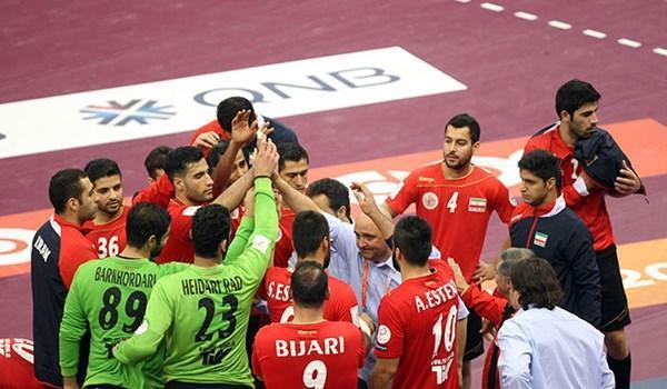 تیم ملی هندبال ایران - بحرین، گزارش لحظه به لحظه
