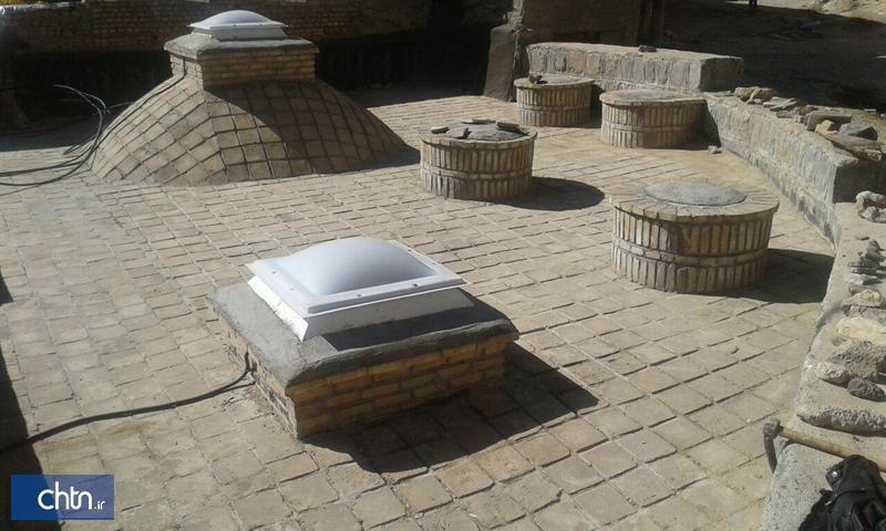 انتها مرمت حمام تاریخی شیدون در سمیرم