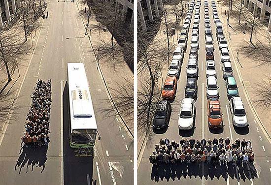تصاویری برای درک تفاوت های بزرگ!