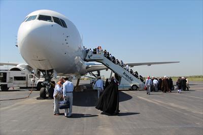 انجام 108 پرواز رفت و برگشت توسط هما برای انتقال زوار حسینی