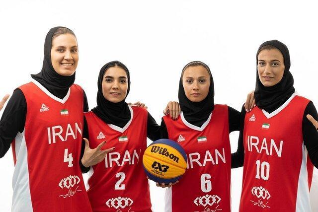 حمایت کمیته ملی المپیک از بسکتبال سه نفره بانوان برای کسب سهمیه المپیک