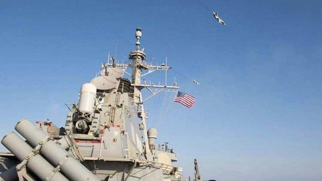 اعتراض واشنگتن به نزدیک شدن غیرحرفه ای ناوشکن چینی به کشتی جنگی آمریکا