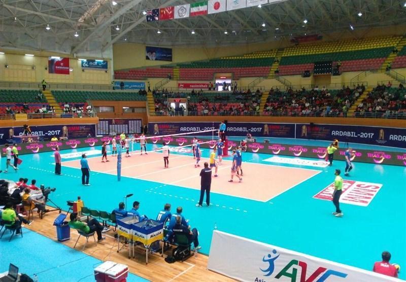 شکست قزاقستان مقابل تیم والیبال امید تایلند
