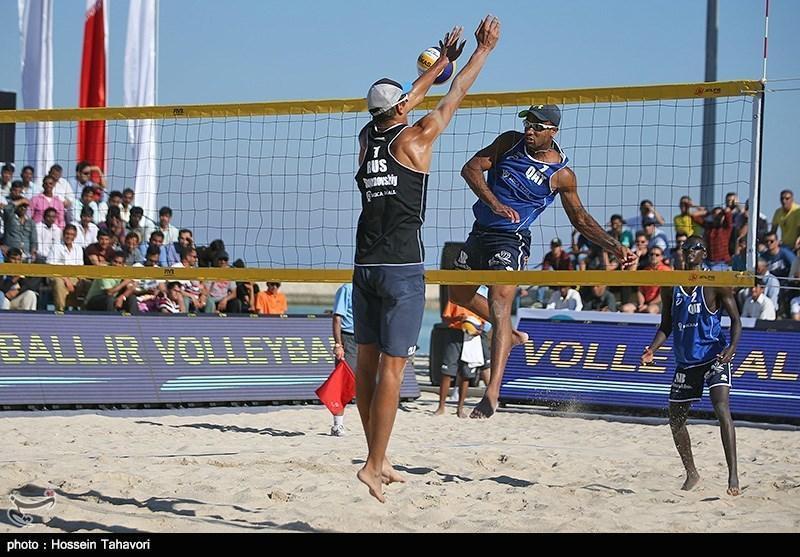 صعود والیبال ساحلی ایران به مرحله نهایی انتخابی المپیک
