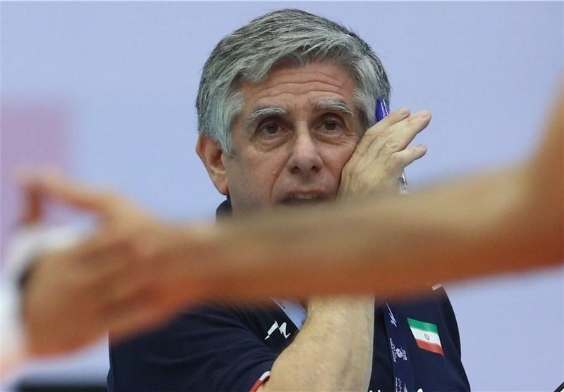 لوزانو: ملاقات با ایتالیا بازی قرن والیبال ایران است