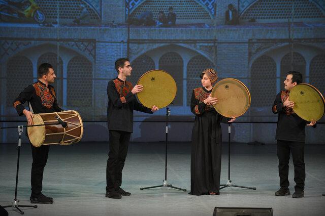 گروه موسیقی ارگ کرمان برگزیده اول جشنواره فولک