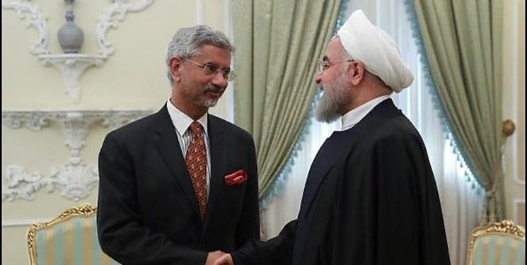 گزارش توئیتری وزیر خارجه هند درباره ملاقات با روحانی، شمخانی و وزیر راه