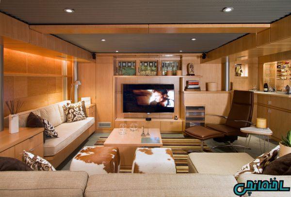 ایده های طراحی خانه با سقف کوتاه
