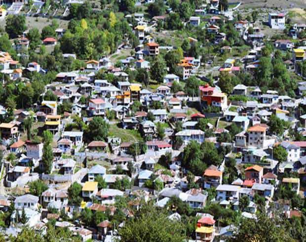 روستای سنگچال، بهشت گردشگران