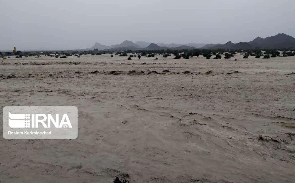 خبرنگاران 40 روستای شهرستان دشتیاری در محاصره سیلاب
