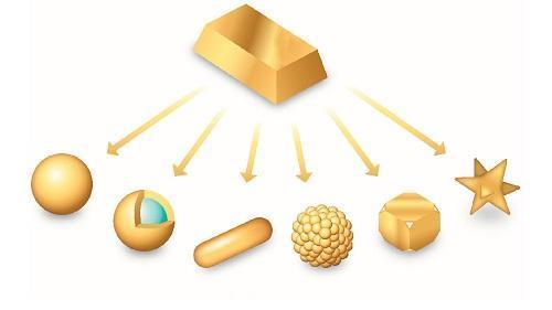 نانو ذرات طلا با خلوص بالا و اندازه ذرات نسبتا یکنواخت فراوری شد