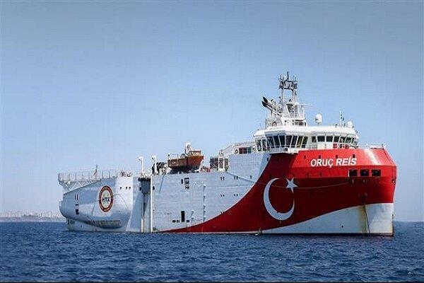 ترکیه در نزدیکی آب های یونان رزمایش دریایی برگزار می نماید