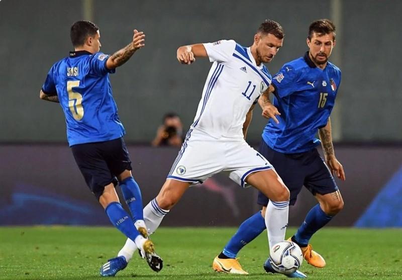 ایتالیا در خانه مقابل بوسنی متوقف شد، هلند، لهستان بدون لواندوفسکی را شکست داد