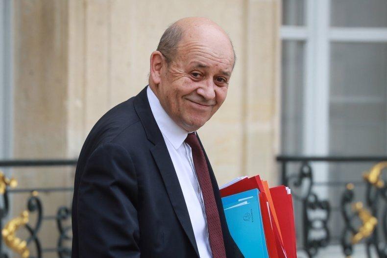سفر رسمی وزیر خارجه فرانسه به بیروت