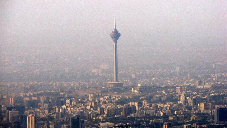 افزایش شاخص آلودگی هوای تهران