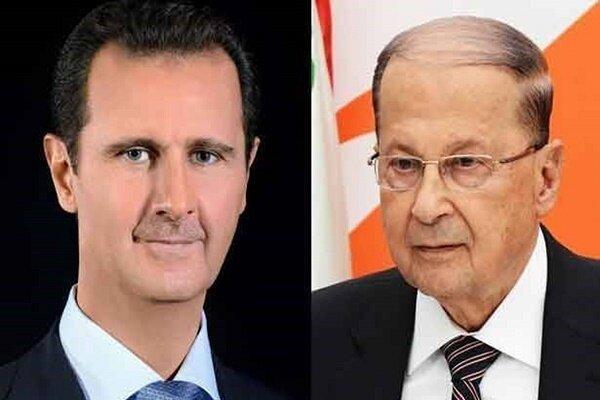 بشار اسد: مطمئنا لبنان از آثار حادثه فاجعه بار بیروت عبور می کند