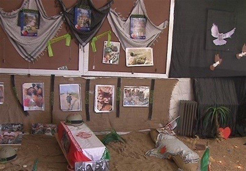 برگزاری نمایشگاه سوگواره هنرهای عاشورایی در پیاده راه عالی قاپو