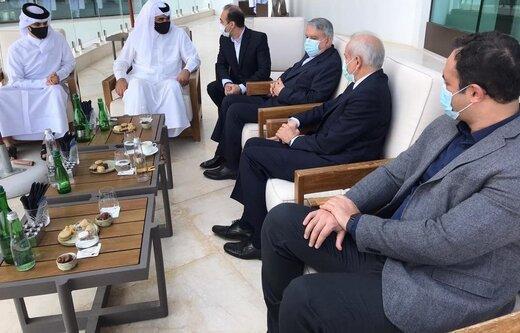 ملاقات صالحی امیری با رئیس کمیته ملی المپیک قطر