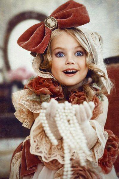 مجموعه عکس دختر بچه های خوشگل و ناز