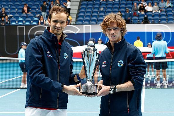 روسیه قهرمان ATP Cup شد
