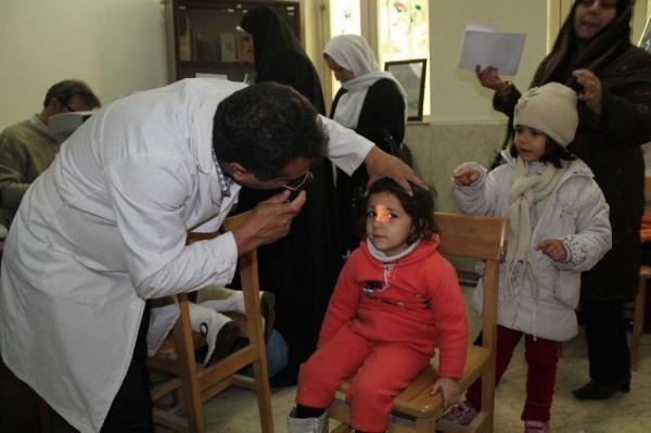 خبرنگاران طرح بینایی سنجی برای 58 هزار کودک کردستانی اجرا شد