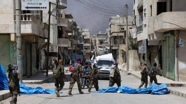 کشته شدن 8 شهروند سوری در حمله شبه نظامیان مورد حمایت آمریکا