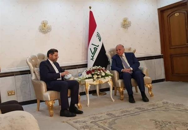 دیدار سخنگوی وزارت امور خارجه با فؤاد حسین