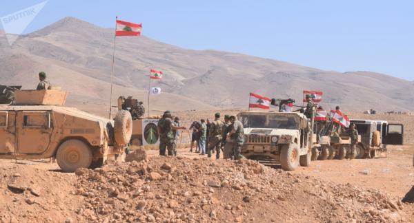 آمریکا 120 میلیون دلار به ارتش لبنان کمک می کند