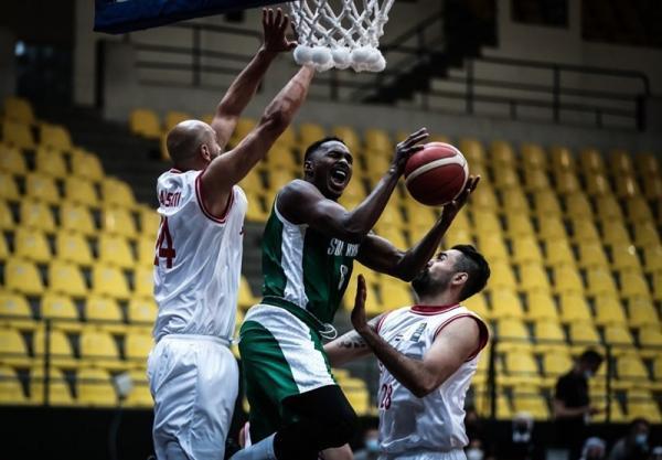 بسکتبال انتخابی کاپ آسیا، عربستان از سد سوریه گذشت